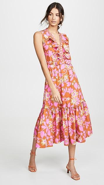 Warm Sleeveless Sierra Dress