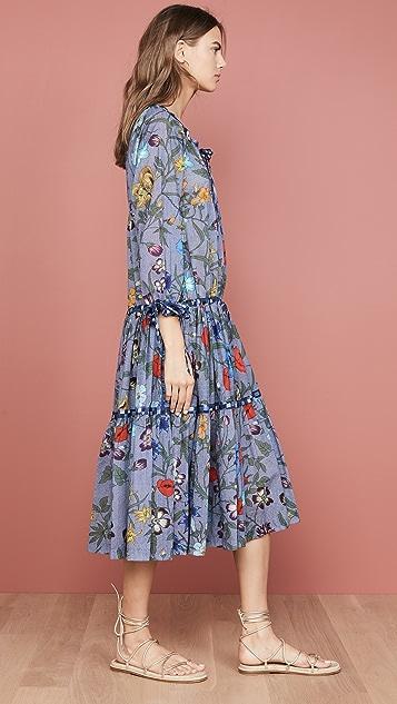 Warm Colonial Dress