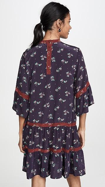 暖色 Glastonbury 连衣裙