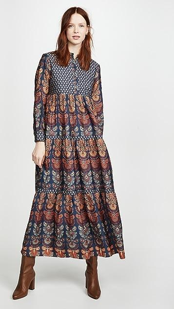 Warm Pheasant Dress