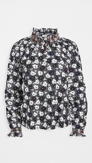 暖色 Ines 女式衬衫