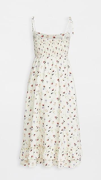 暖色 Rosie 连衣裙