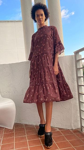 Warm Glastonbury Long Dress