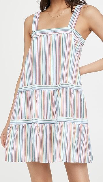 冬情暖意 彩虹连衣裙
