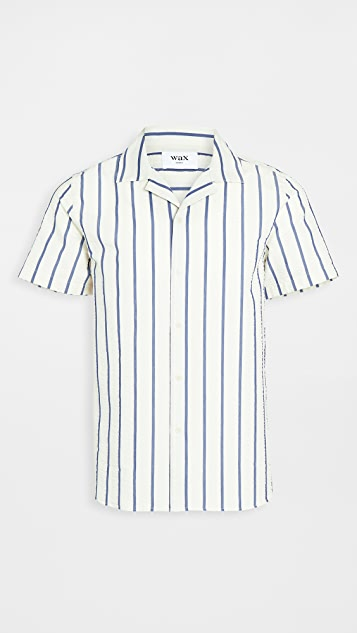 Wax London Didcot Short Sleeve Shirt