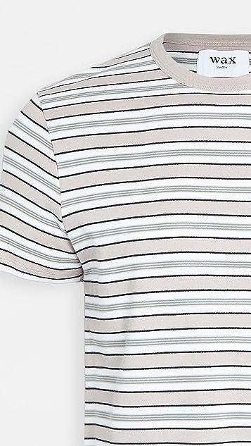 Wax London Duval Striped T-Shirt