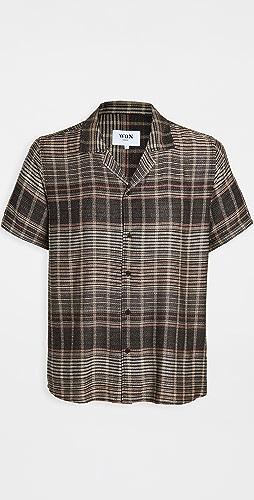 Wax London - Cheesecloth Viscose Drape Shirt