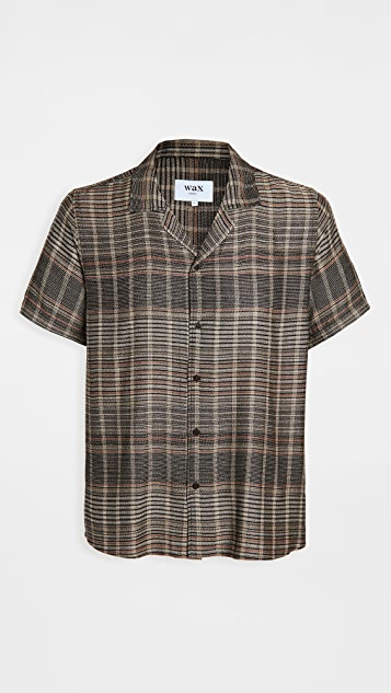 Wax London Cheesecloth Viscose Drape Shirt
