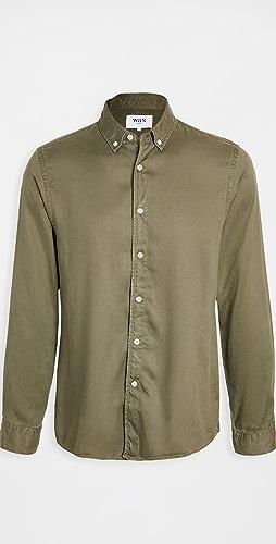 Wax London - Bampton Babycord Shirt
