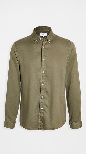 Wax London Bampton Babycord Shirt
