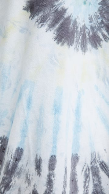 Wax London Reid Compact Cotton Tie Dye Tee