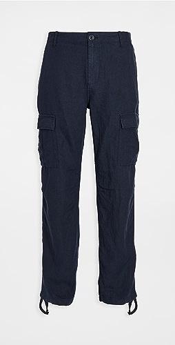 Wax London - Brick Linen Pants