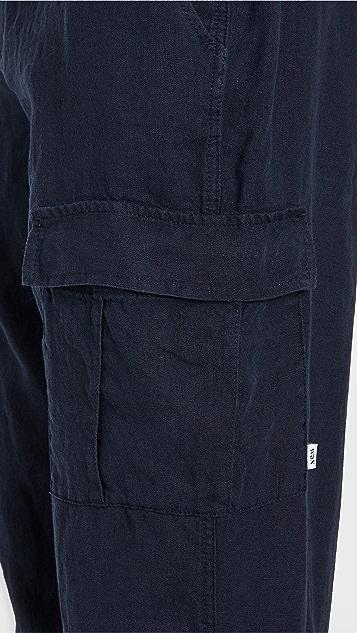 Wax London Brick Linen Pants