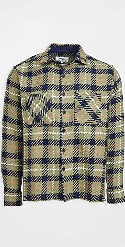 Wax London - Whiting Heavy Check Overshirt