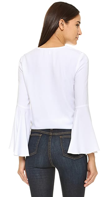 WAYF Bell Sleeve Blouse