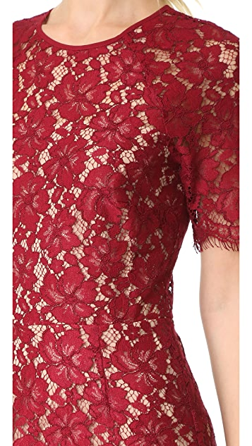 WAYF Spencer Lace Dress