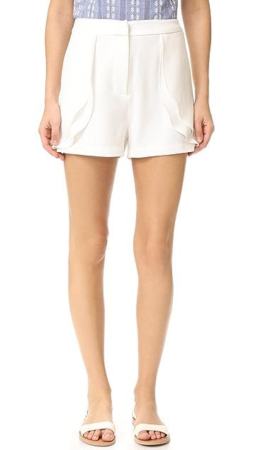 WAYF Ryland Ruffle Shorts