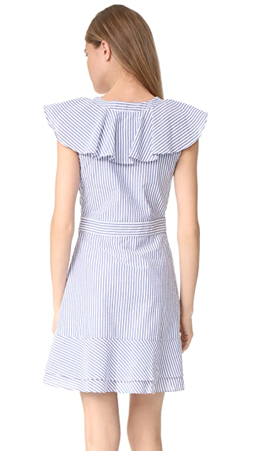 WAYF Manning Ruffle Dress