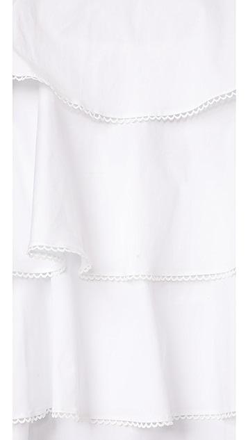 WAYF Madelyn Tiered Mini Dress
