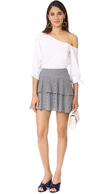WAYF Rayan Tiered Skirt