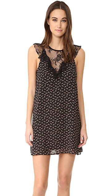 WAYF Andrea Lace Inset Dress