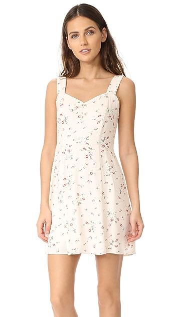 WAYF Hannah A-Line Mini Dress