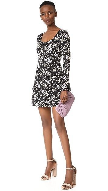WAYF Lark Skater Mini Dress
