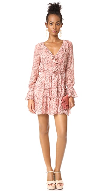 WAYF Evelyn Tiered Mini Dress