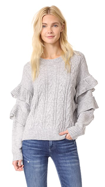 WAYF Sophie Cable Sweater