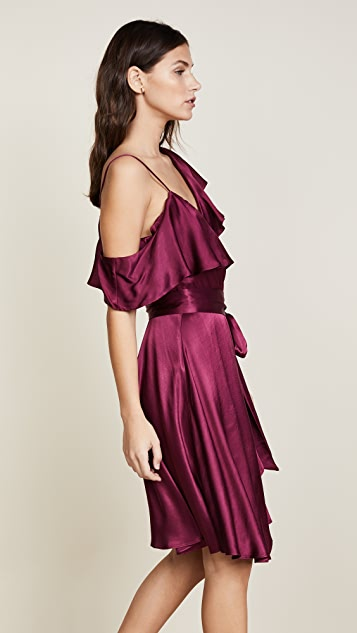 WAYF Rachelle Wrap Dress