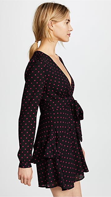 WAYF Roland Long Sleeve Dress
