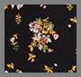 Black Ditzy Floral