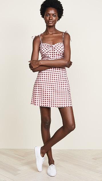 WAYF Pesaro Corset Mini Dress