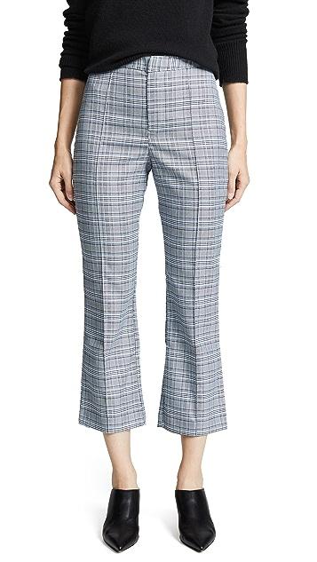 WAYF Укороченные брюки Finn