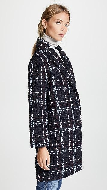 WAYF Valmont Oversized Cocoon Coat