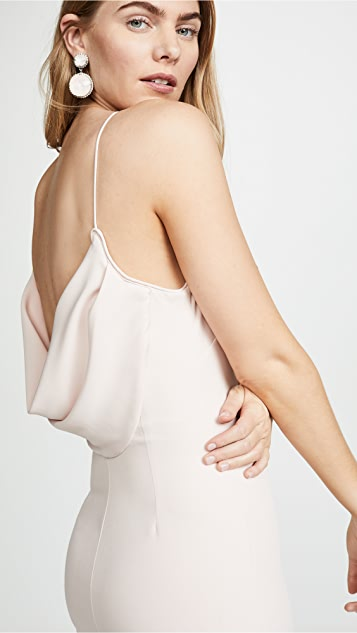WAYF The Nina Cowl Back Gown