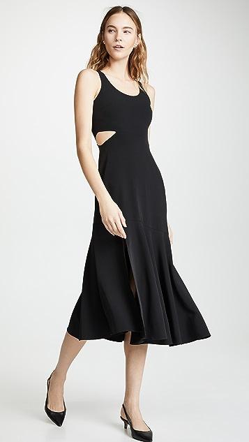 WAYF Arabella 镂空连衣裙