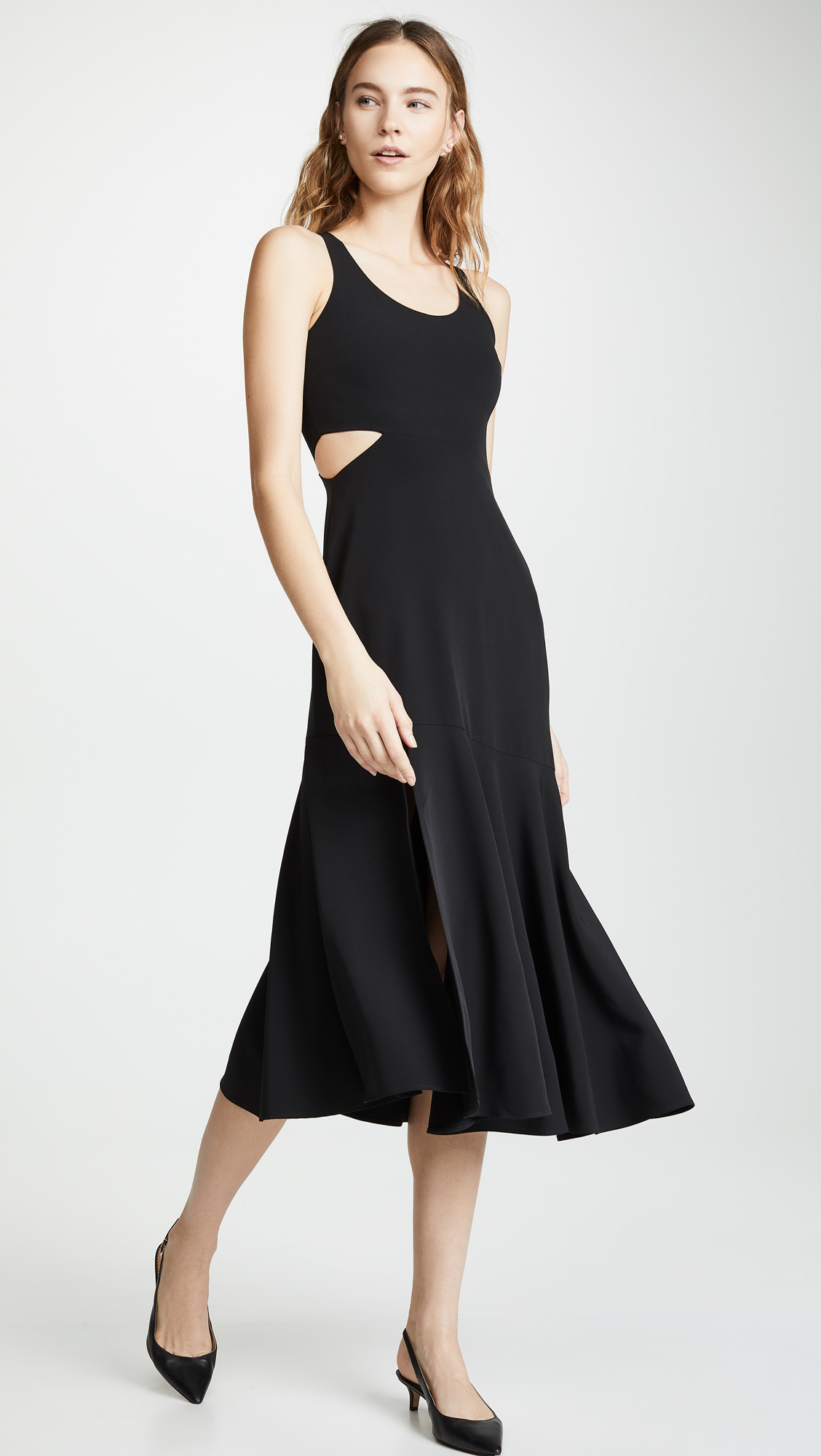 WAYF Arabella Cutout Dress