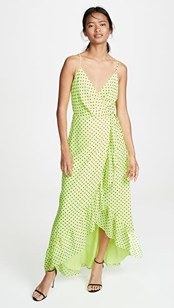 WAYF Casey Wrap Dress