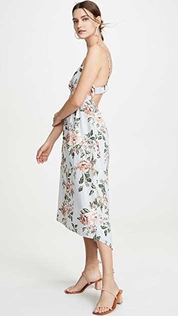 WAYF Dayton Cami Midi Dress