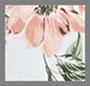灰蓝花卉印花
