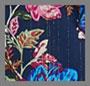 深海蓝花卉