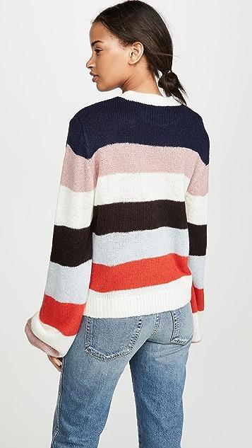 WAYF Weston Stripe Sweater