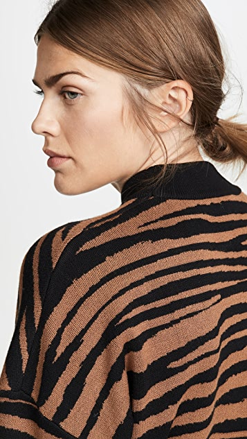 WAYF Vincent Intarsia Sweater