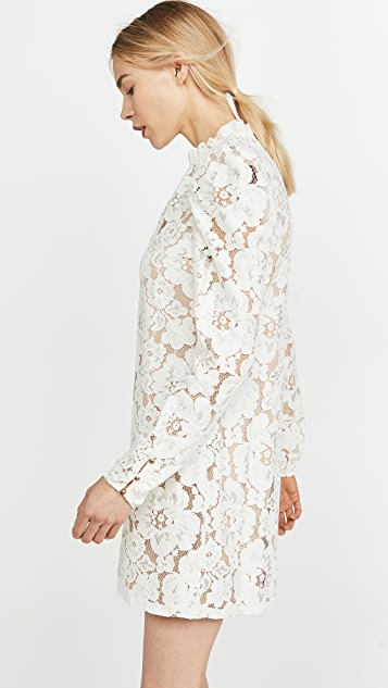 WAYF Emma Puff Sleeve Dress