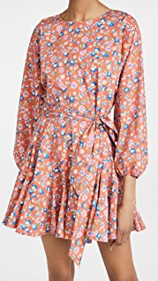 WAYF Altonia Swing Mini Dress