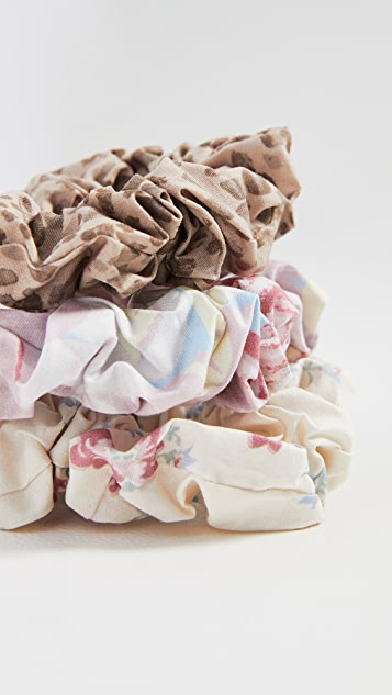 WAYF Set of 3 Scrunchies