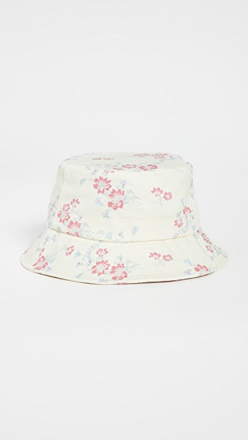 WAYF Bucket Hat with Matching Face Covering