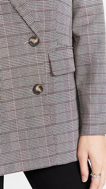 WAYF Finn Double Breasted Blazer