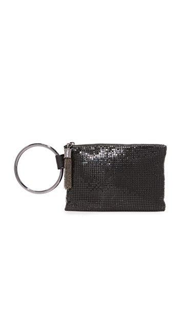 Whiting & Davis Ring Tassle Pouch